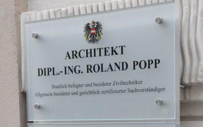 Sanierung Büro POPP
