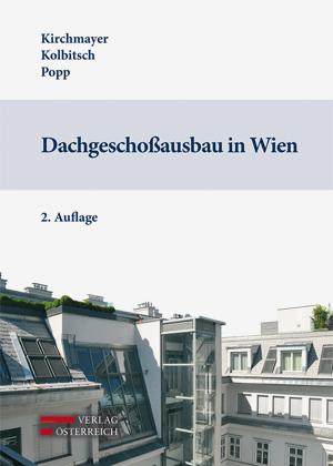 Buch Dachgeschoßausbau in Wien