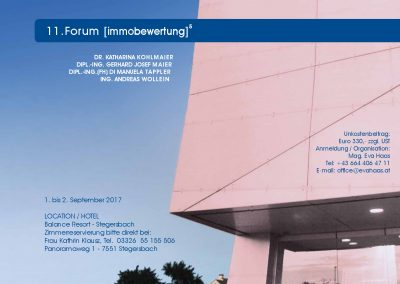 Forum ImmoBewertung_2017_Programm_1